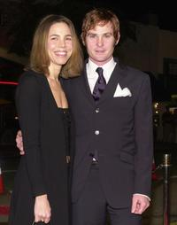 Henry Thomas and his wife Kelly at the premiere of