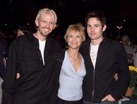 Robert MacNaughton, Dee Wallace and Henry Thomas at the premiere of