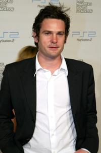 Henry Thomas at the Playstation 2 Triple Double Celebrity Gaming Tournament.
