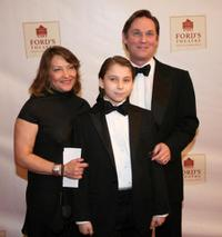 Georgiana Bischoff, Montana James Thomas and Richard Thomas at the Ford's Theatre Reopening Celebration.
