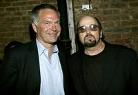 James Toback and Jonathan Sehring at the Hamptons Magazine after party for the premiere of
