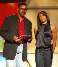 Robert Townsend and Regina King at the 20th IFP Independent Spirit Awards.