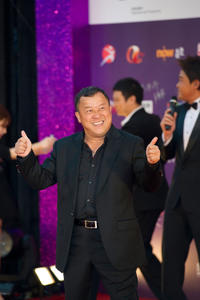 Eric Tsang at the 29th Hong Kong Film Awards Presentation Ceremony.