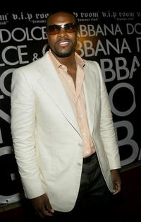Chris Tucker at the Dolce & Gabbana Party in France.