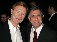 David Caruso and Leslie Moonves at the Museum of Television and Radio's annual Los Angeles gala.