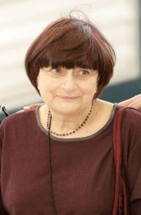 Agnes Varda at the 58th International Cannes Film Festival.