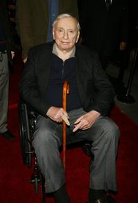 Writer Gore Vidal at the premiere of Focus Features