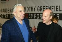 Author Gore Vidal and Timothy Greenfield-Sanders at the TENs presentation of Timothy Greenfield-Sanders XXX 30 Porn-Stars Portraits.