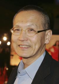 Wayne Wang at the premiere of