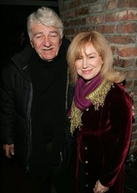 Seymour Cassel and Mary Kay Place at the after party for the premiere of