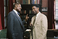 Forest Whitaker and Denzel Washington in