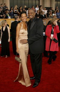 Forest Whitaker and wife actress Keisha Whitaker at the 13th Annual Screen Actors Guild Awards in Los Angeles.