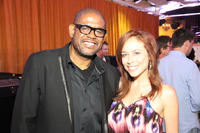 Forest Whitaker and Shira Lazar at the JuntoBox Films Greenlighting Event