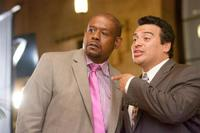 Forest Whitaker and Carlos Mencia