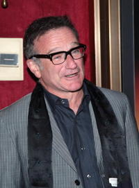 Actor Robin Williams at the N.Y. premiere of