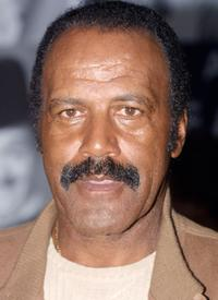 Fred Williamson at the Motion Picture Hall of Fame press conference.