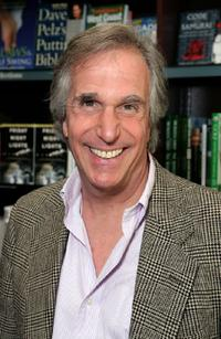 Henry Winkler at the signing for his new book series.