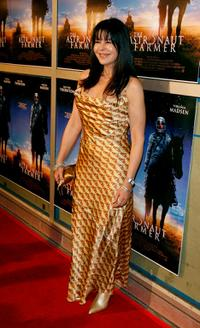 Maria Conchita Alonso at the premiere of