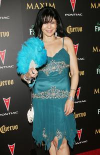 Maria Conchita Alonso at the Maxim Magazine's 7th Annual Hot 100 party.