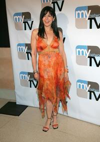 Maria Conchita Alonso at the MyNetwork TV Upfront Presentation.