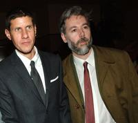 Mike Diamond and Adam Yauch at the premiere of