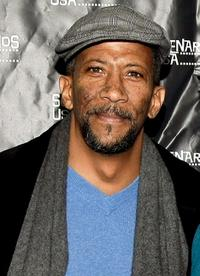 Reg E. Cathey at the premiere of