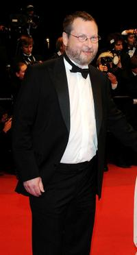 Lars von Trier at the premiere of