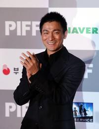 Andy Lau at the opening ceremony of the Pusan International Film Festival (PIFF).