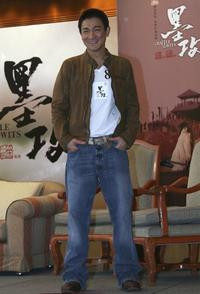 Andy Lau at the news conference of