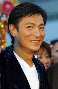 Andy Lau at the premiere of