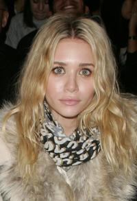 Ashley Olsen at the Jenni Kayne Fall 2007 fashion show during Mercedes-Benz Fashion Week.