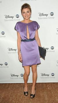 Sarah Chalke at the Disney And ABC's