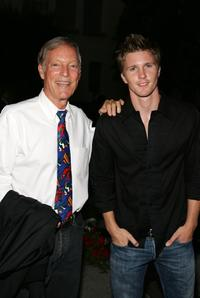 Richard Chamberlain and Thad Luckinbill at the Season Four Premiere Screening of