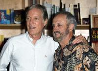 Richard Chamberlain and Jerry London at the Virgin Megastore Hollywood to promote the DVD launch of the television series