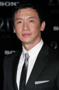 Chin Han at the premiere of