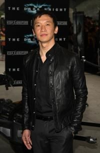 Chin Han at the world premiere of