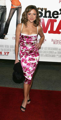 Christine Lakin at the L.A. premiere of