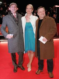 Dominique Horwitz, Anna Wittig and Axel Prahl at the opening night of the 56th Berlin International Film Festival.