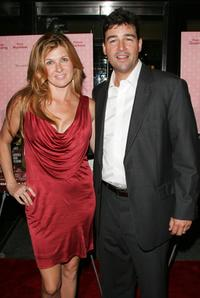 Connie Britton and Kyle Chandler at the premiere of