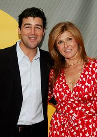 Kyle Chandler and Connie Britton at the NBC Upfronts.