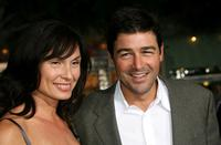 Kyle Chandler and guest at the premiere of