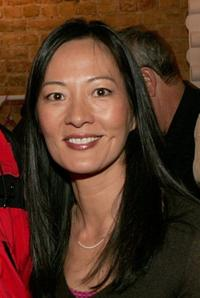 Rosalind Chao at the reception of