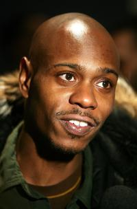 Dave Chappelle at the premiere of