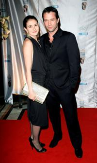 James Purefoy and Guest at the Inaugural British Academy Film and Television Arts (BAFTA) Nominees Reception.