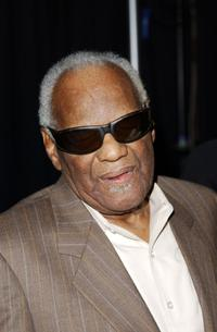 Ray Charles at the 20th Annual Media Access Awards.