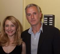Patricia Clarkson and John Slattery at the opening of a new play