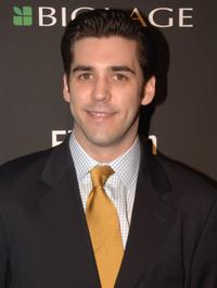 Jordan Bridges at the Entertainment Weekly's Oscar viewing party.