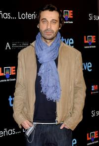 Jordi Molla at the Goya Cinema Awards.
