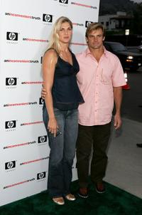 Gabrielle Reece and Laird Hamilton at the Los Angeles premiere of