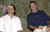 Laird Hamilton and Jeff Clark at the question and answer session of